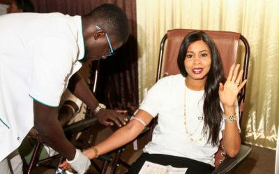 Journée de don de sang organisée par Expresso en partenariat avec le CNTS