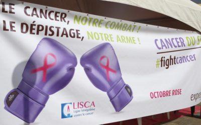 Octobre Rose : Journée de depistage gratuite du cancer du sein et randonnée pédestre de sensibilisation organisées par le CNLS en partenariat avec Expresso